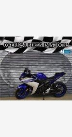 2016 Yamaha YZF-R3 for sale 200615093