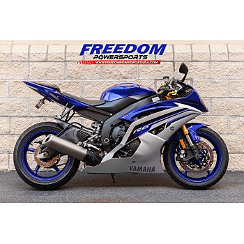 2016 Yamaha YZF-R6 for sale 200830922