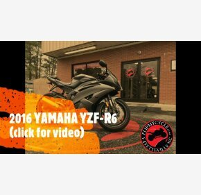 2016 Yamaha YZF-R6 for sale 201061922