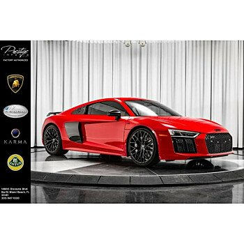 2017 Audi R8 V10 plus Coupe for sale 101181616