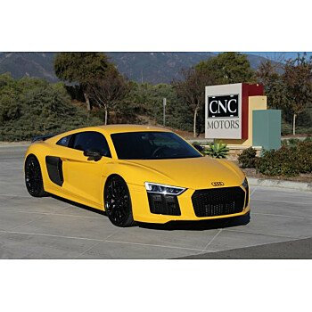 2017 Audi R8 V10 plus Coupe for sale 101274106