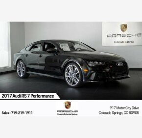 2017 Audi RS7 Performance for sale 101209642