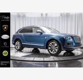 2017 Bentley Bentayga for sale 101077385