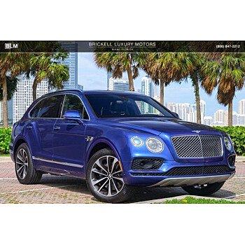 2017 Bentley Bentayga for sale 101401110