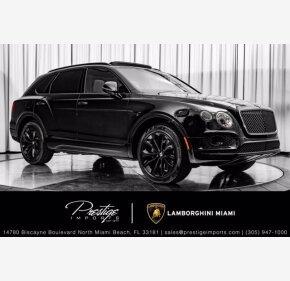 2017 Bentley Bentayga for sale 101421983