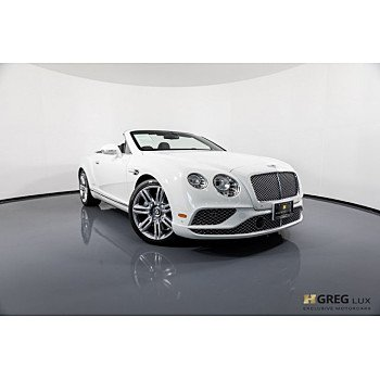 2017 Bentley Continental for sale 101048453