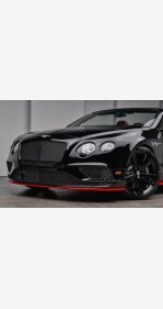 2017 Bentley Continental GT Speed Convertible for sale 101069435
