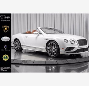 2017 Bentley Continental GT Speed for sale 101381125
