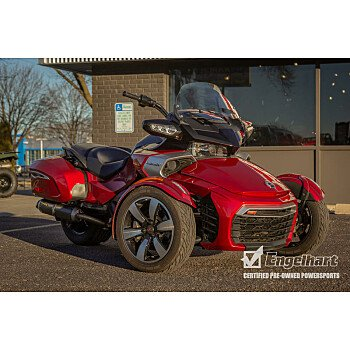 2017 Can-Am Spyder F3 for sale 200668947