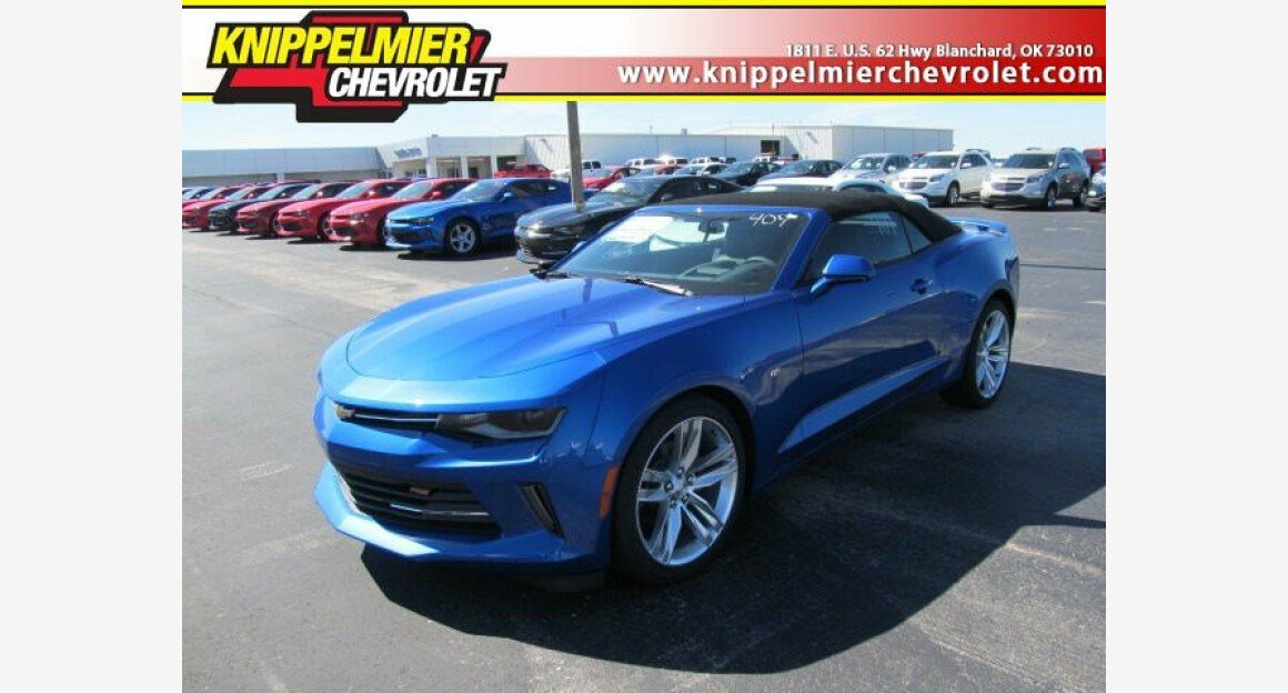 2017 Chevrolet Camaro LT Convertible for sale 100796081