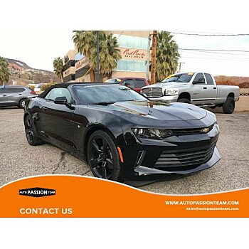 2017 Chevrolet Camaro LT Convertible for sale 101066810