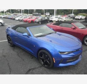 2017 Chevrolet Camaro LT Convertible for sale 100791061