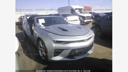 2017 Chevrolet Camaro SS Convertible for sale 101190834