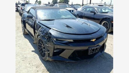 2017 Chevrolet Camaro SS Convertible for sale 101205813