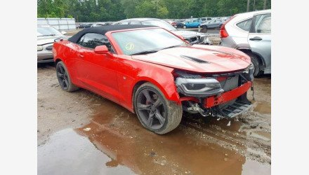 2017 Chevrolet Camaro SS Convertible for sale 101225028