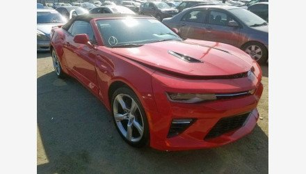 2017 Chevrolet Camaro SS Convertible for sale 101237318