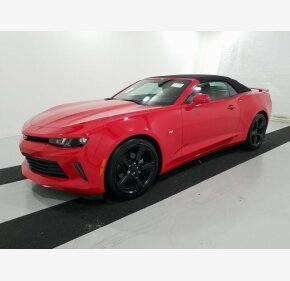 2017 Chevrolet Camaro LT Convertible for sale 101238237