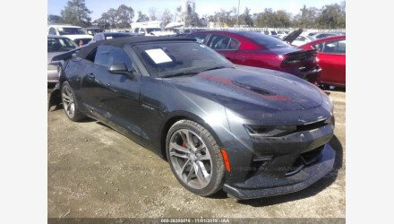 2017 Chevrolet Camaro SS Convertible for sale 101239010