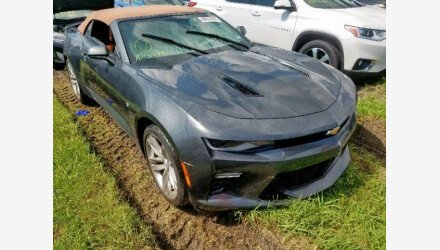 2017 Chevrolet Camaro SS Convertible for sale 101239840