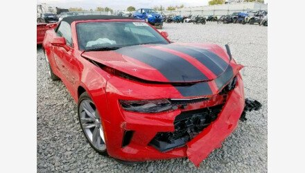 2017 Chevrolet Camaro LT Convertible for sale 101249374