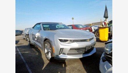 2017 Chevrolet Camaro LT Convertible for sale 101307582