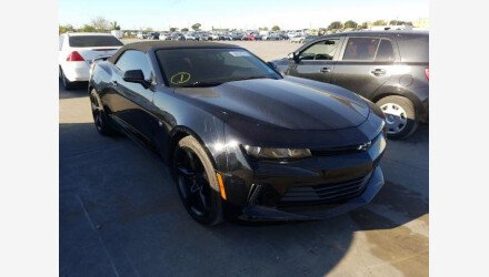 2017 Chevrolet Camaro LT Convertible for sale 101393543