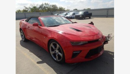 2017 Chevrolet Camaro SS Convertible for sale 101408235