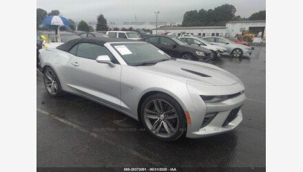 2017 Chevrolet Camaro SS Convertible for sale 101408639