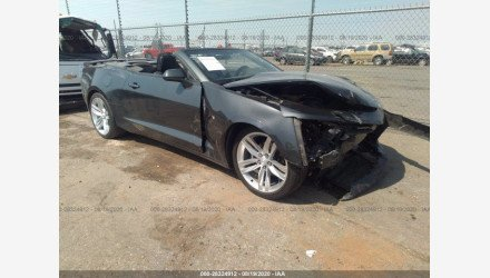 2017 Chevrolet Camaro LT Convertible for sale 101449878