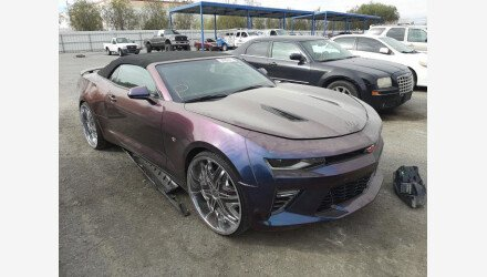 2017 Chevrolet Camaro SS Convertible for sale 101487633