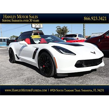 2017 Chevrolet Corvette Z06 Convertible for sale 101075210