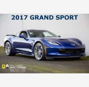 2017 Chevrolet Corvette Grand Sport Coupe for sale 101235045