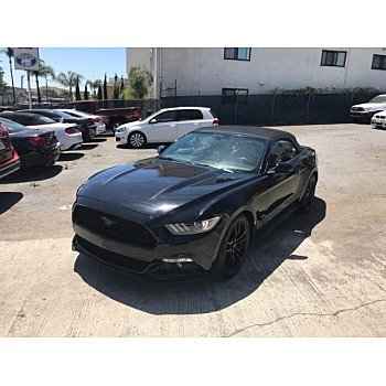 2017 Ford Mustang Convertible for sale 100995758