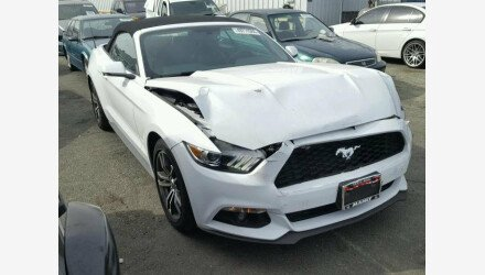 2017 Ford Mustang Convertible for sale 101065708