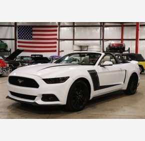 2017 Ford Mustang Convertible for sale 101083073