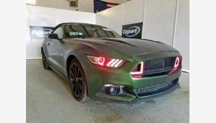 2017 Ford Mustang GT Convertible for sale 101206746