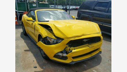 2017 Ford Mustang Convertible for sale 101222607