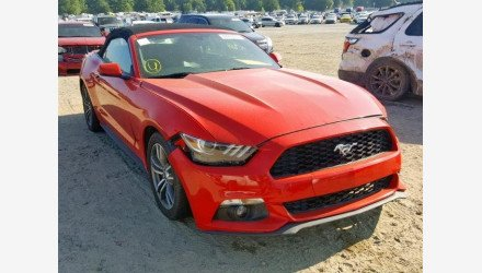 2017 Ford Mustang Convertible for sale 101223141