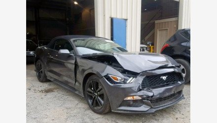 2017 Ford Mustang Convertible for sale 101223199
