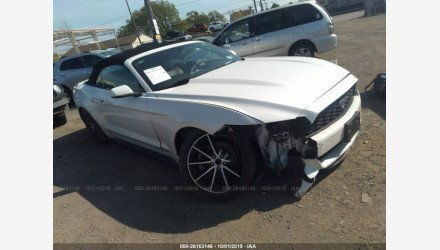 2017 Ford Mustang Convertible for sale 101232073