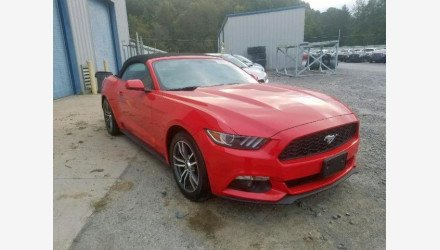 2017 Ford Mustang Convertible for sale 101234666