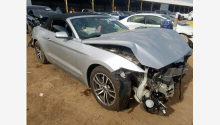 2017 Ford Mustang Convertible for sale 101290688
