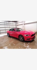 2017 Ford Mustang Convertible for sale 101326481