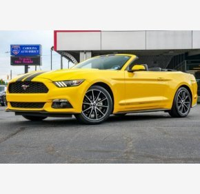 2017 Ford Mustang Convertible for sale 101330294
