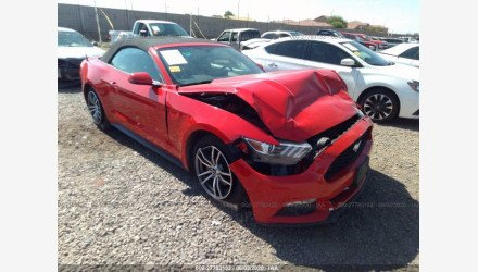 2017 Ford Mustang Convertible for sale 101351164