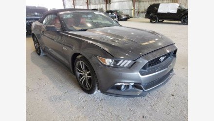 2017 Ford Mustang GT Convertible for sale 101409791