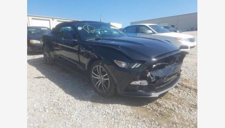 2017 Ford Mustang Convertible for sale 101410483
