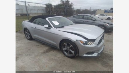 2017 Ford Mustang for sale 101457124