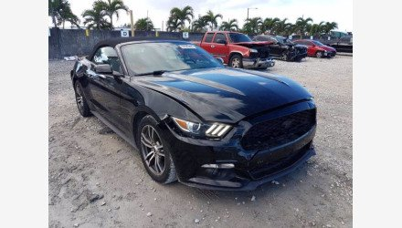 2017 Ford Mustang Convertible for sale 101461682