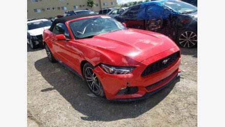 2017 Ford Mustang Convertible for sale 101461683